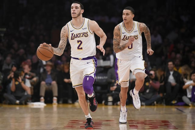 Pelicans would want Kuzma, Ball, more in Davis trade with Lakers