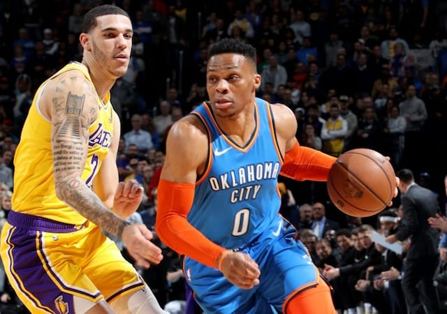 1d1246b8059 Lakers News: Luke Walton Accepts Responsibility For Lonzo Ball Fouling  Russell Westbrook On 3-Pointer; Official Tom Washington Admits Wrong Call  Was Made
