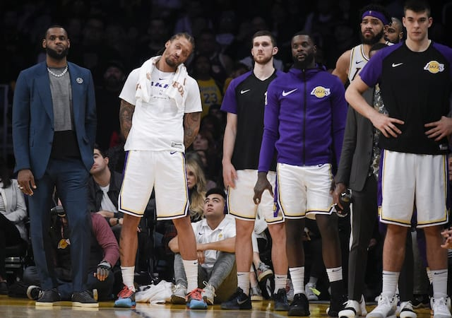 Lakers' Walton anticipates good news from LeBron's re-evaluation