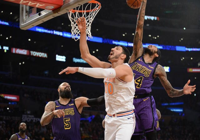 d8f50dac89a NBA Free Agency Rumors  Enes Kanter Signs With Blazers Over Lakers After  Being Bought Out By Knicks