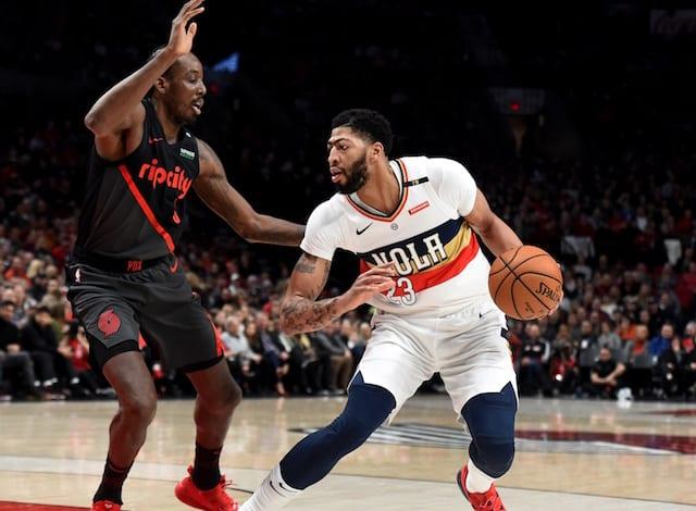 Anthony Davis Trade Rumors  Pelicans Now Seeking 4 Draft Picks ... 3ac542a64