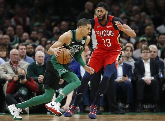 Anthony Davis Sr. Denounces Celtics As Viable Option Because Of Trading Isaiah  Thomas cacbf5754