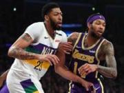 Anthony Davis, Brandon Ingram, Lakers, Pelicans