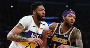 Anthony Davis, Brandon Ingram, Lakers, Pelicans