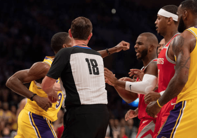 c844e40d2 Rockets  Chris Paul Downplays Facing Rajon Rondo