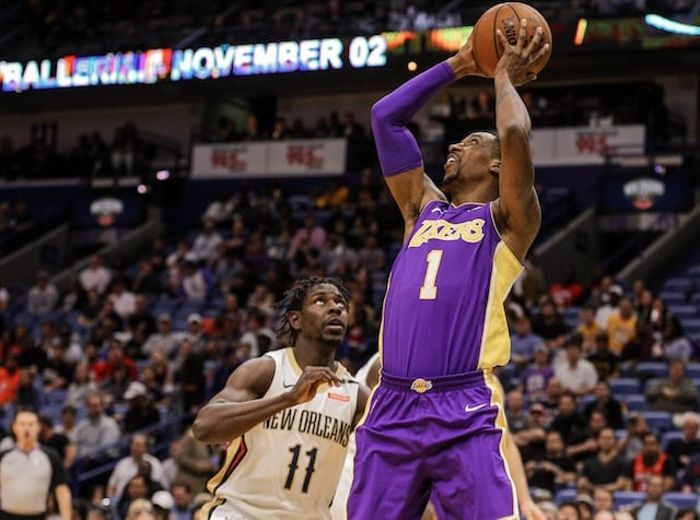 5f64a48f172 Lakers Trade Rumors: Kentavious Caldwell-Pope Not Included In Any Anthony  Davis Trade Offers