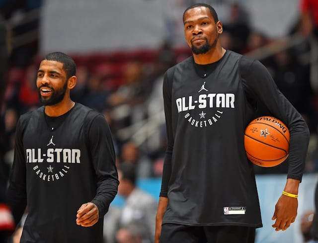 Kevin Durant, Kyrie Irving, Nets, Lakers
