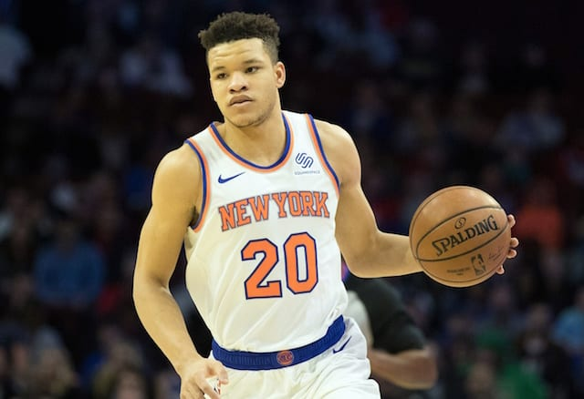 Kevin Knox, Knicks, Lakers