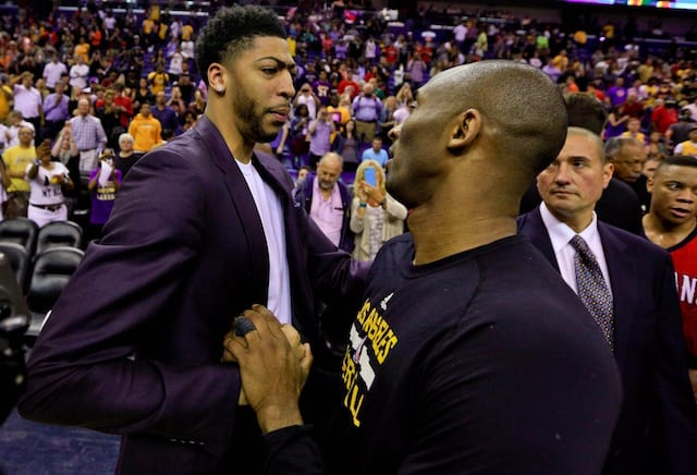 Kobe Bryant, Anthony Davis, Lakers