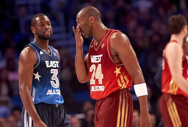 2b8cf86fa4be Dwyane Wade Recalls Kobe Bryant Loving Getting Nose Broken In 2012 ...