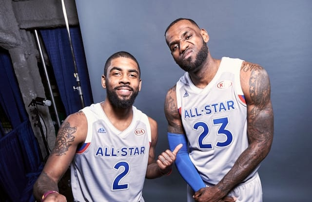 4a979f4f6d7 Lakers News  LeBron James Considers Relationship With Kyrie Irving ...