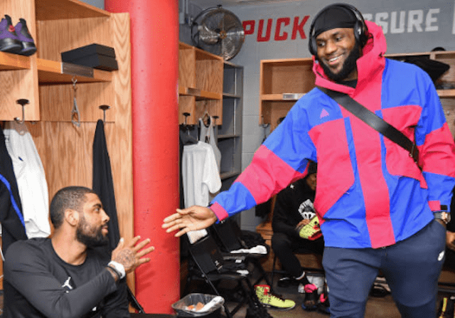 2019 NBA All-Star Weekend Charlotte Media Day: LeBron James 'Always Loved' Kyrie Irving