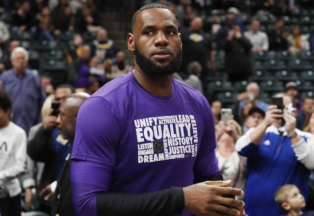 Personal Trainer Mike Mancias Refutes Report Of LeBron James Playing At 280 Pounds Because Of Groin Injury