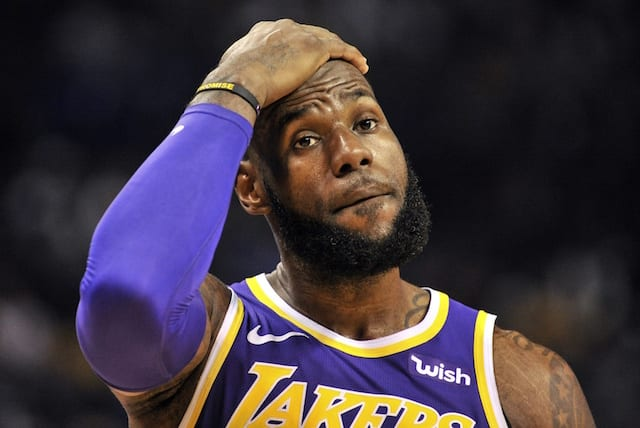 50c50ab194b6 Lakers Rumors  LeBron James  Body Language Was Focus Of Players-Only ...