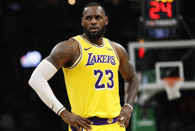 c3d4df33bae8 Lakers News  LeBron James Clarifies  Icing On The Cake