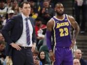 LeBron James, Luke Walton, Lakers