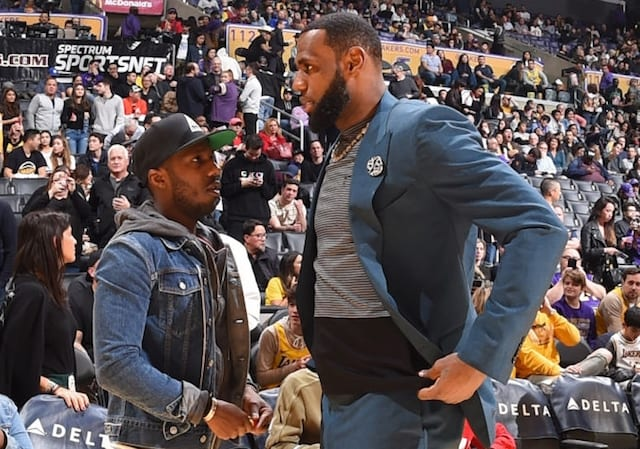 LeBron James, Rich Paul, Lakers