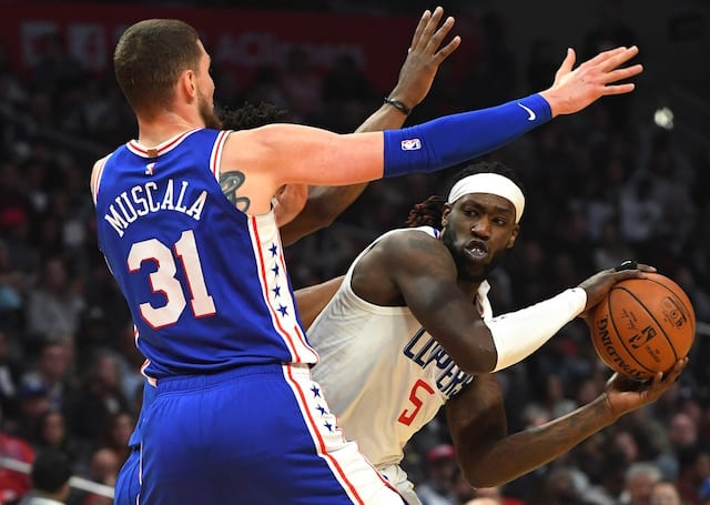 514816a78ab6 Lakers Trade Rumors  Mike Muscala Acquired From Clippers For Michael  Beasley   Ivica Zubac