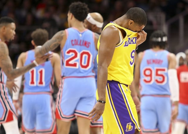 13a624ae1d3 Losses To Non-Playoff Teams At Center Of Lakers  Struggles - Lakers ...