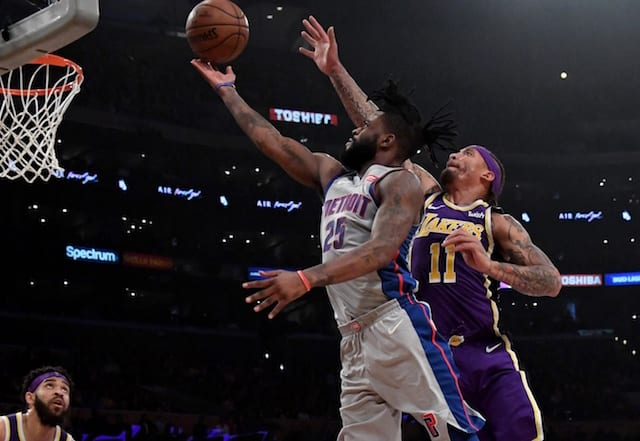 Reggie Bullock Acquired From Pistons For Svi Mykhailiuk & Draft Pick