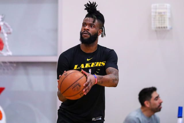 Reggie Bullock Excited To Play For Lakers Grew Up Kobe