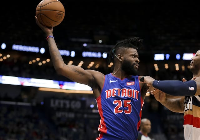 cac38d78c9e Lakers Trade Rumors  Reggie Bullock Acquired From Pistons For Svi Mykhailiuk    Draft Pick. Derick E. Hingle-USA TODAY Sports