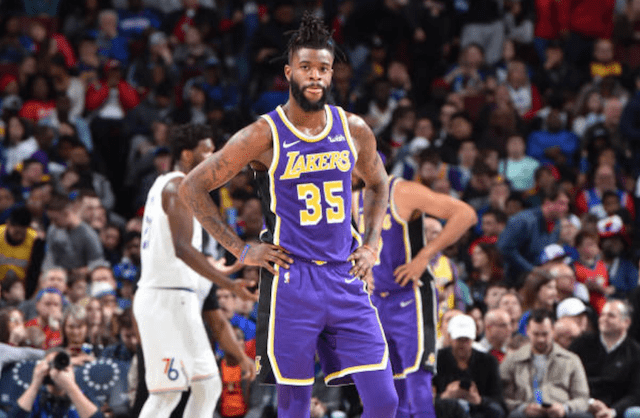get cheap c9cb4 e0020 Reggie Bullock 'Glad' He Was Thrown Into Fire By Starting ...