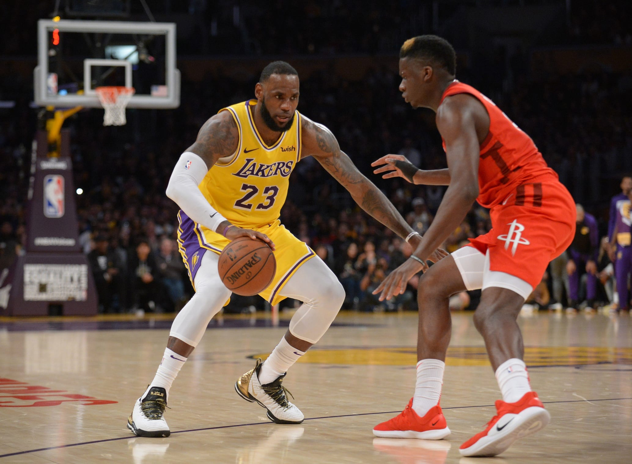 a3ea55f23ff3 Lakers News  LeBron James Confident In Playoff Chances  If I Can Get In