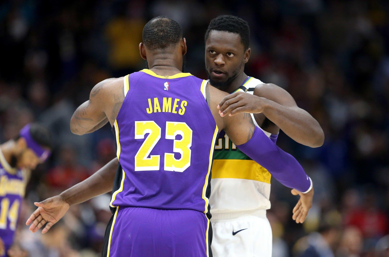 LeBron James, Lakers, Pelicans