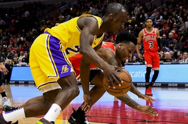Andre Ingram, Lakers