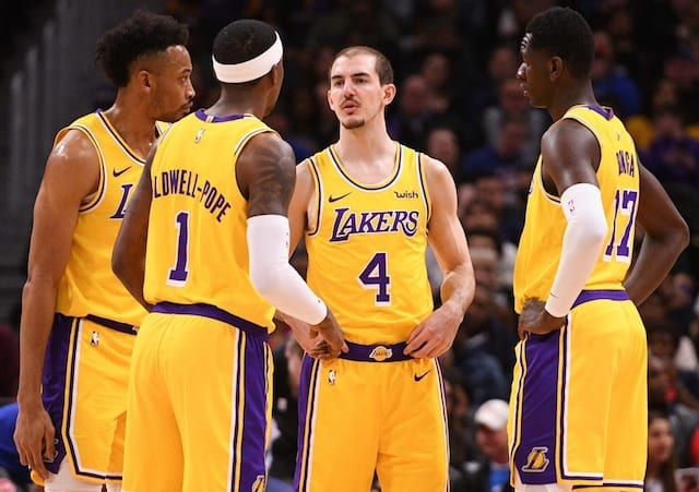 5f4ad7ae60d Lakers Two-Way Players Alex Caruso & Johnathan Williams Making The Most Of  Their Opportunity