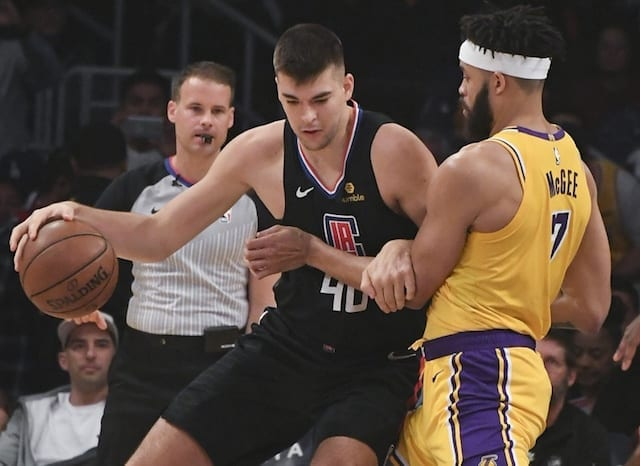 JaVale McGee, Ivica Zubac, Lakers, Clippers