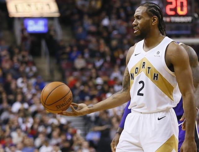 cfa2586676a Lakers Free Agency Rumors: Raptors 'Increasingly Confident' In Chances Of  Re-Signing Kawhi Leonard. John E. Sokolowski-USA TODAY Sports