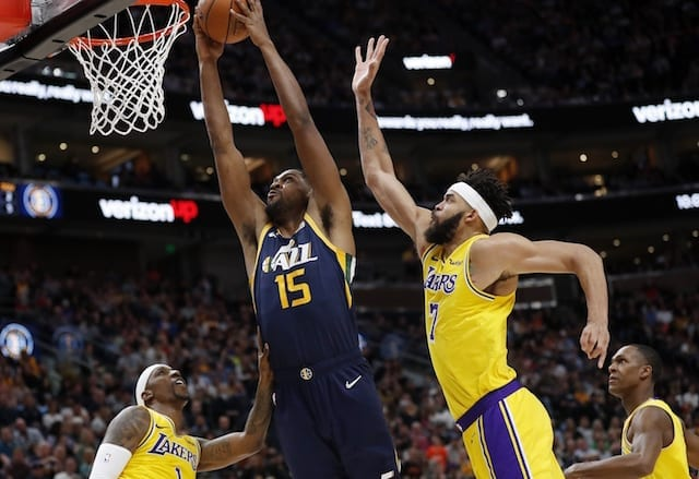 Derrick Favors, Jazz, Lakers