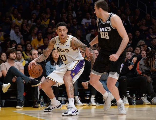 Kyle Kuzma, Nemanja Bjelica, Lakers, Kings