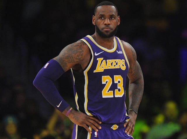 f377f8745b6 Lakers Not Discussing Shutting Down LeBron James For Remainder Of Season