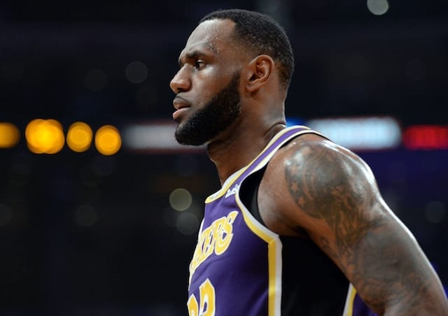 a65fe94f2ef Lakers Rumors  LeBron James Will Have Minutes Restricted