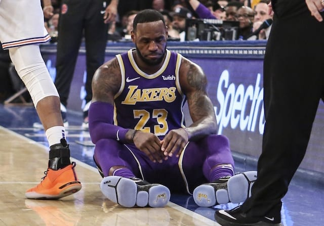 857366c82ca Lakers News  LeBron James Doesn t See Difference In Losses To Playoff Teams  And Sub-.500 Opponents