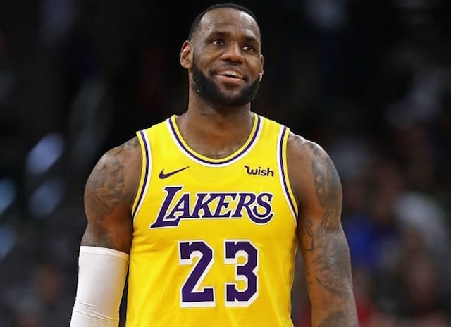 264971ed52ad Lakers Rumors  LeBron James  Trade Value Has Decreased. Jonathan  Daniel-Getty Images