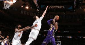 LeBron James, Mario Hezonja, Lakers, Knicks