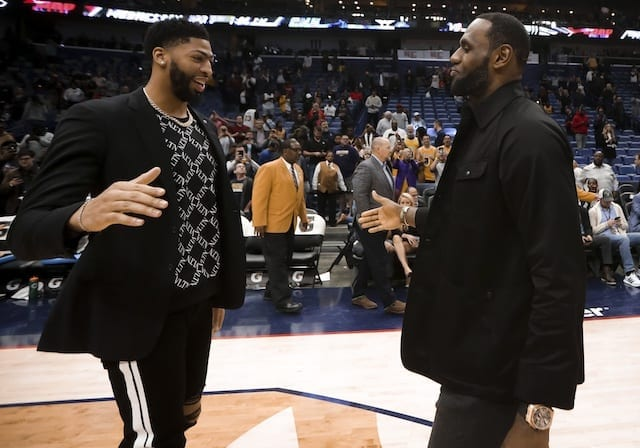 LeBron James, Anthony Davis, Lakers