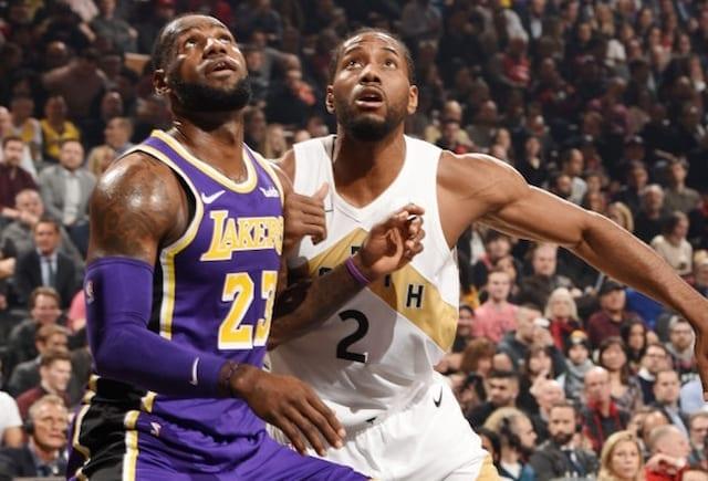 LeBron James, Los Angeles Lakers, Kawhi Leonard