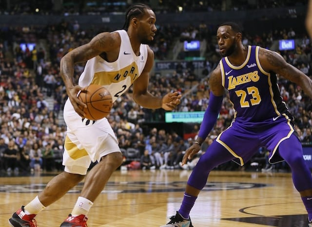 e43a371ece5 NBA Free Agency Rumors  Kawhi Leonard s Raptors Teammates Expect Him To  Leave For Lakers Or Clippers