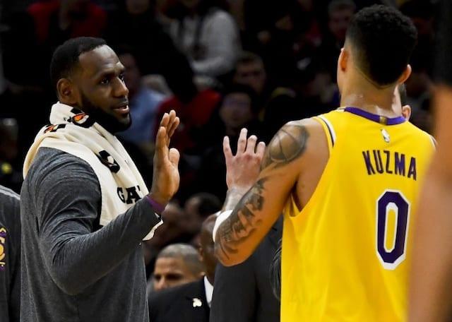 LeBron James and Anthony Davis inspire Lakers to Mavericks victory