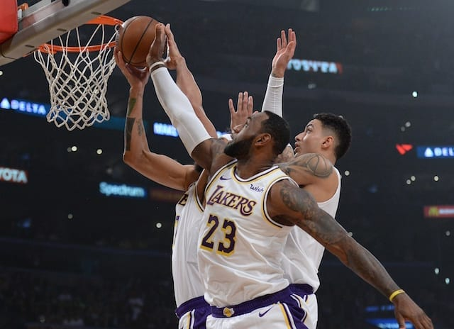 a09be4115 Lakers Highlights  LeBron James  Triple-Double