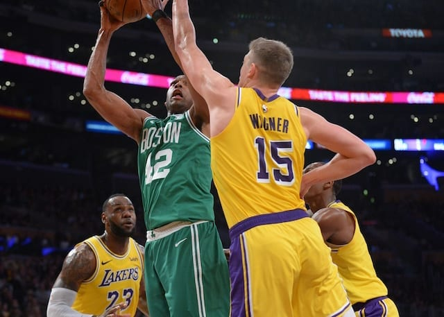 9dc2d6b311a7 Lakers News  Moritz Wagner  Proud  Of Career High In First Start But  Focused On Loss To Celtics