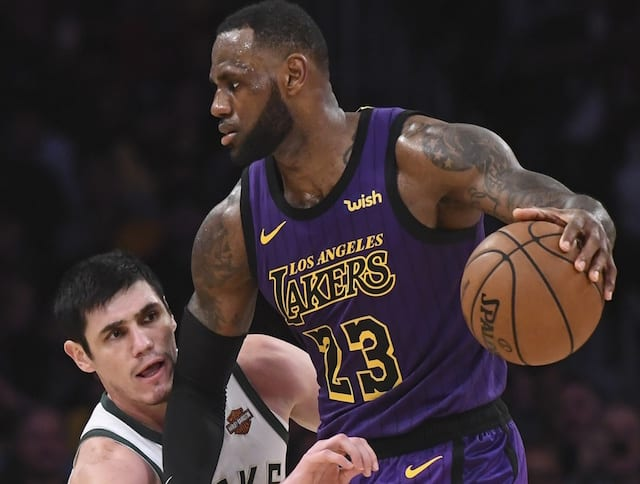 5790e1c50c57 Lakers Injury Report  LeBron James   Lance Stephenson Out Vs. Bucks ...