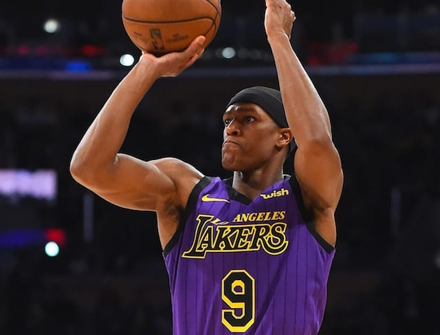Image result for rajon rondo preseason 2019