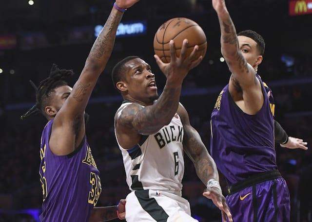 Eric Bledsoe, Lakers, Bucks