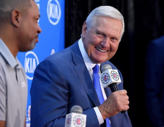 Jerry West, Doc Rivers, Lakers, Clippers